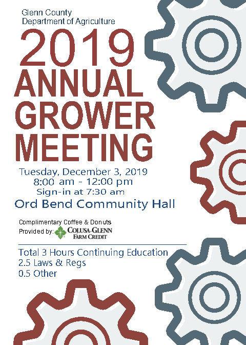 2019 Grower Meeting Flyer