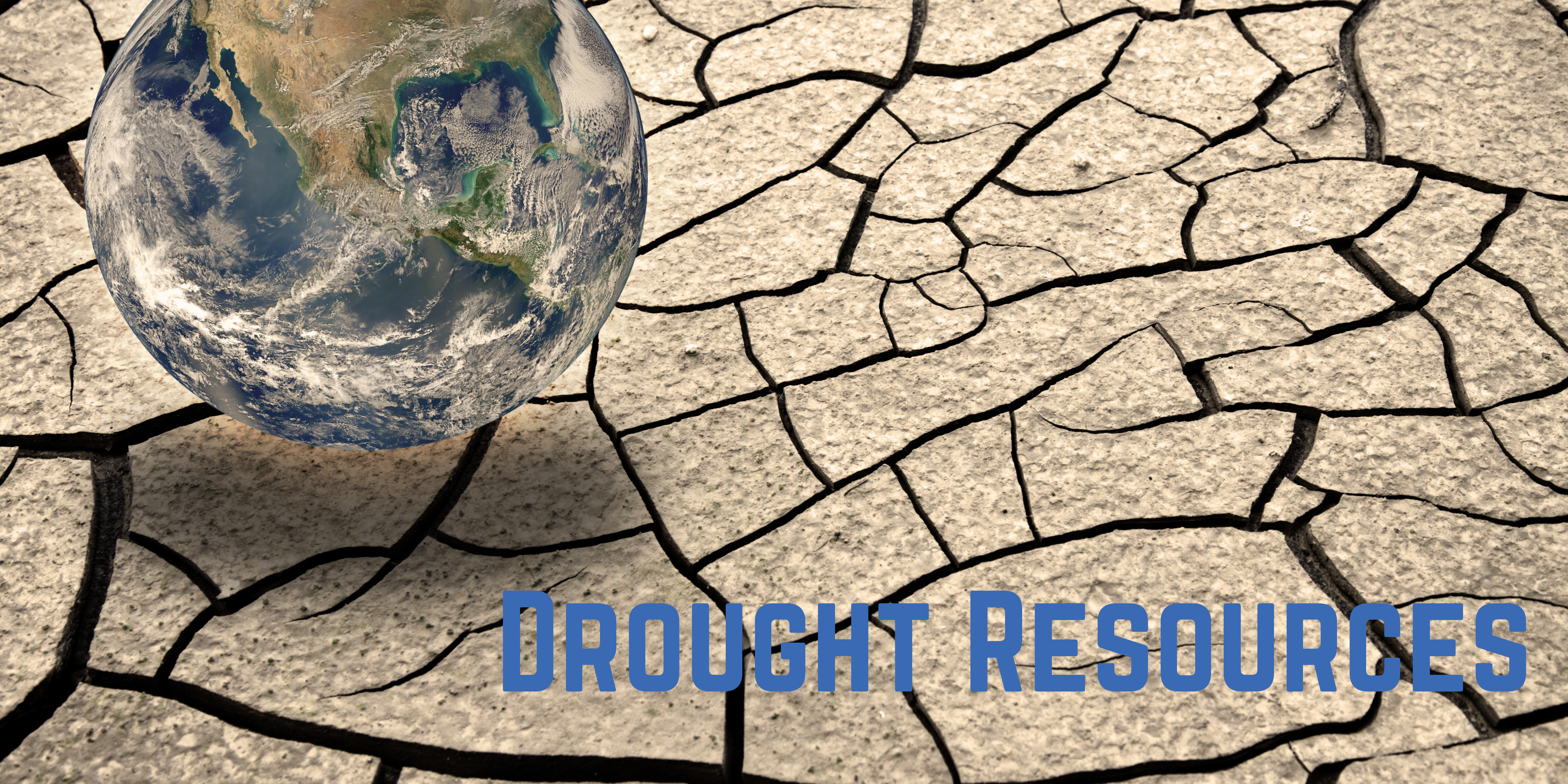 dry earth and world