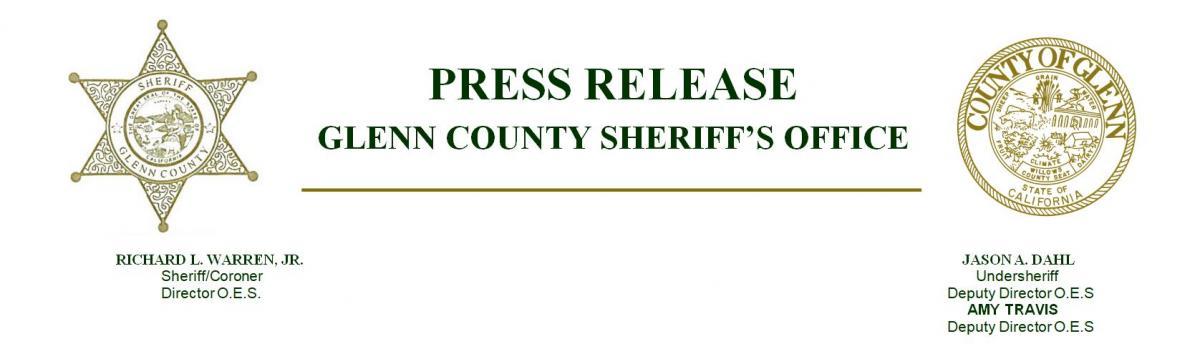 Sheriff's Office Press Release