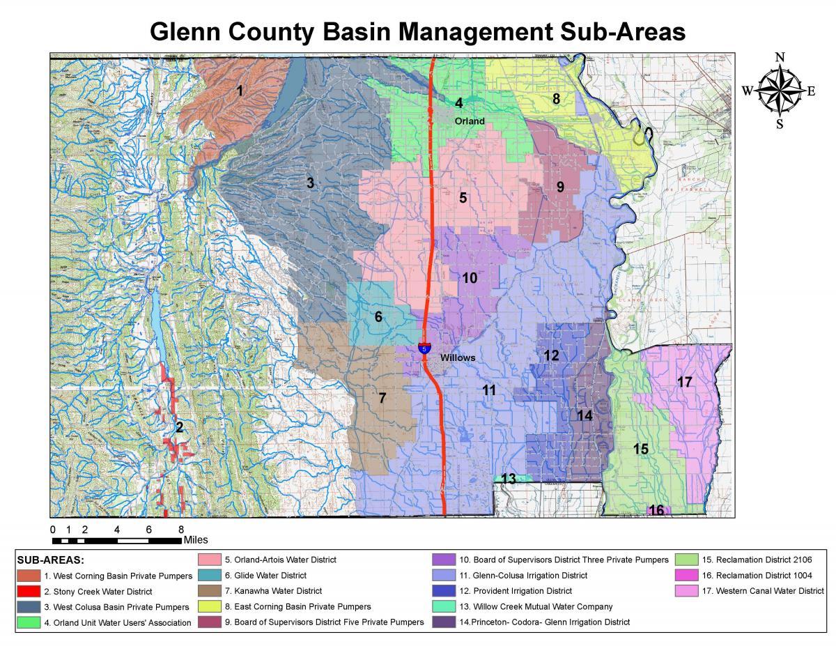 Glenn County California Map.Maps County Of Glenn