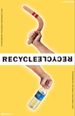 Recycle everything you can!