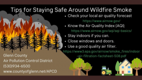 Wildfire Safety Tips Image