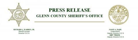 Glenn County Sheriff's Office Press Header