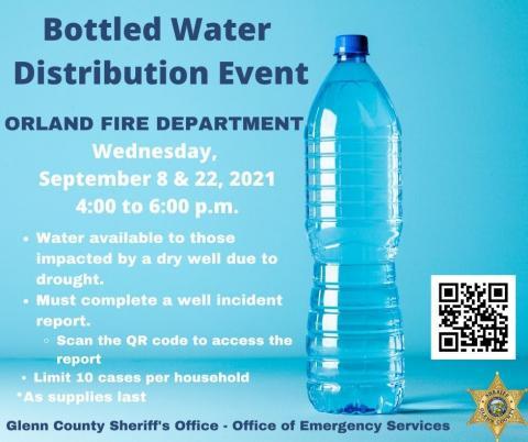 September Bottled Water Distribution for Drought