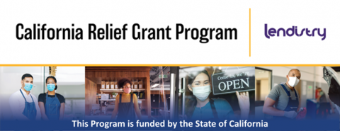 Picture of California Relief Grant Program Logo
