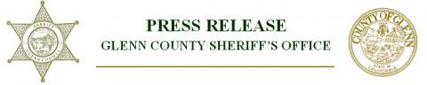 County of Glenn Sherrif department logo
