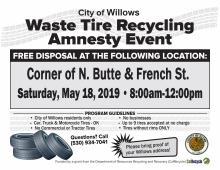 Tire Amnesty Event
